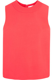 Victoria, Victoria Beckham Stretch wool-blend top