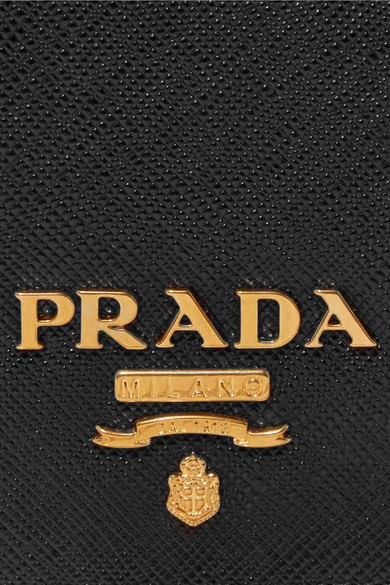 Prada Shoulder Bag Made Of Textured Leather
