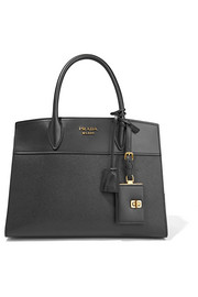 Prada Esplanade large smooth and textured-leather tote