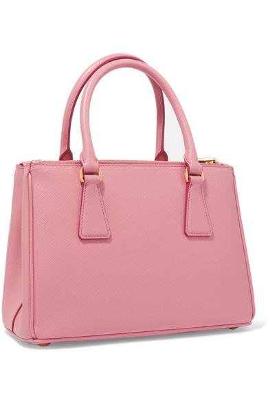 125d9ebd1e69f3 Prada   Galleria mini textured-leather tote   NET-A-PORTER.COM