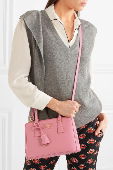 7f59d13c8b60 Prada | Galleria mini textured-leather tote | NET-A-PORTER.COM