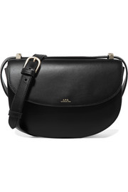 Geneve leather shoulder bag