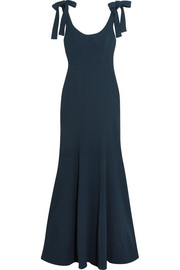 Breakers cutout crepe maxi dress
