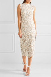 The Society guipure lace dress