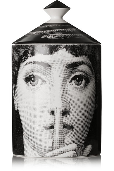 Fornasetti - Silenzio Thyme, Lavender And Orris Scented Candle - one size