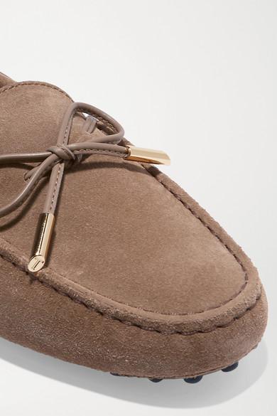 Tod's Veloursleder | Gommino Loafers aus Veloursleder Tod's 79829f