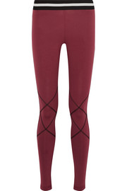 Delta stretch-jersey leggings