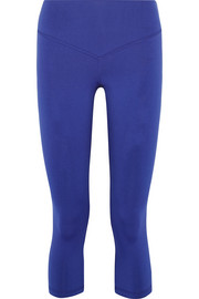 Mateo cropped stretch-jersey leggings