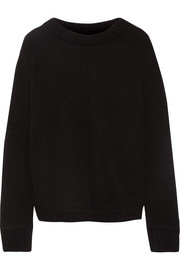 The Elder Statesman Appliquéd cashmere sweater