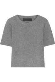 The Elder Statesman Ribbed cashmere top