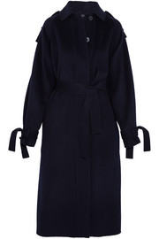 Clallam wool and cashmere-blend coat