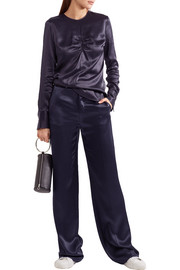 Joseph Fergus charmeuse wide-leg pants