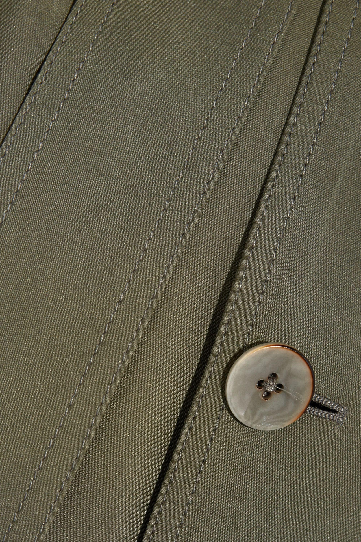 Joseph Parachute washed-silk trench coat