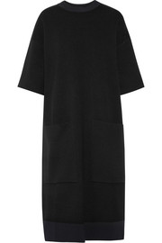 Joseph Two-tone stretch-knit midi dress