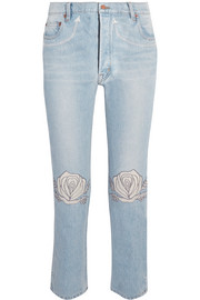 Song of the West high-rise straight-leg jeans