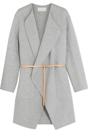 Dugny oversized belted wool and cashmere-blend coat