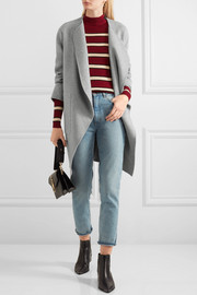 Vanessa Bruno Dugny oversized belted wool and cashmere-blend coat