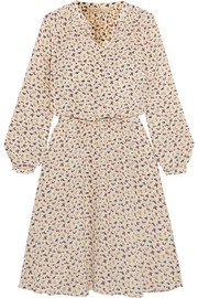 Vanessa Bruno Gagny floral-print silk crepe de chine dress
