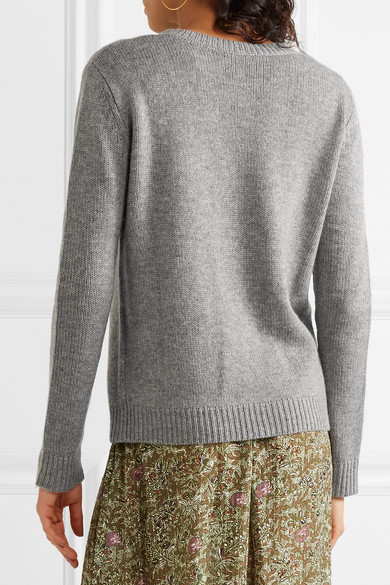 Buy Cheap Real Vanessa Bruno Wool-Blend Top Outlet Discount Sale Online 0RTdMGVkLZ