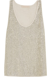Vanessa Bruno Gerard sequined crepe top