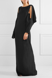 Chalayan Cutout crepe gown