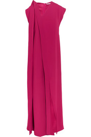 Chalayan Draped crepe maxi dress