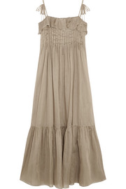 Tybalt cotton-mousseline maxi dress