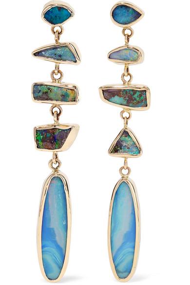 Melissa Joy Manning 14-karat Gold Opal Earrings k8Ryv1w8
