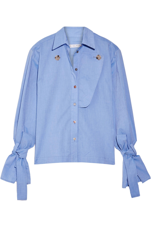 REJINA PYO Billie cotton-chambray shirt