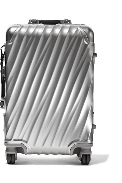 19 DEGREE ALUMINUM CONTINENTAL CARRY ON SUITCASE