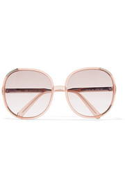 Myrte square-frame acetate sunglasses