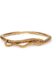 Aurélie Bidermann Tao gold-plated choker