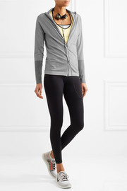 Running stretch-jersey jacket