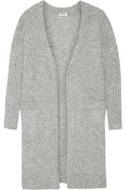 Acne Studios Raya oversized knitted cardigan