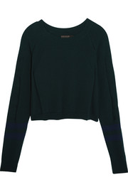 Ace cropped knit sweater