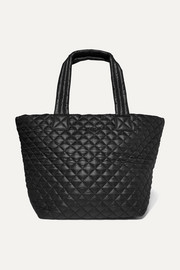 Metro quilted shell tote
