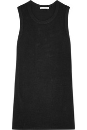James Perse Brushed cotton-blend jersey tank