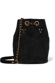 Jérôme Dreyfuss Popeye medium suede bucket bag
