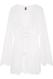 L'Agent by Agent Provocateur Aaliya crocheted lace dress