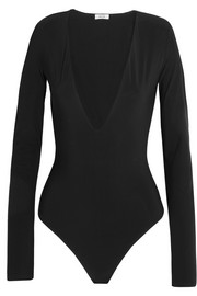 Irving stretch-jersey bodysuit