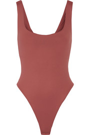 Mott stretch-jersey bodysuit
