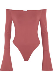 Baxter stretch-jersey bodysuit