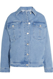 Rushmore oversized beaded denim jacket