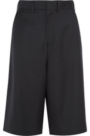 Vetements + Brioni split-back wool shorts