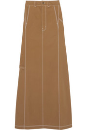 + Carhartt denim maxi skirt