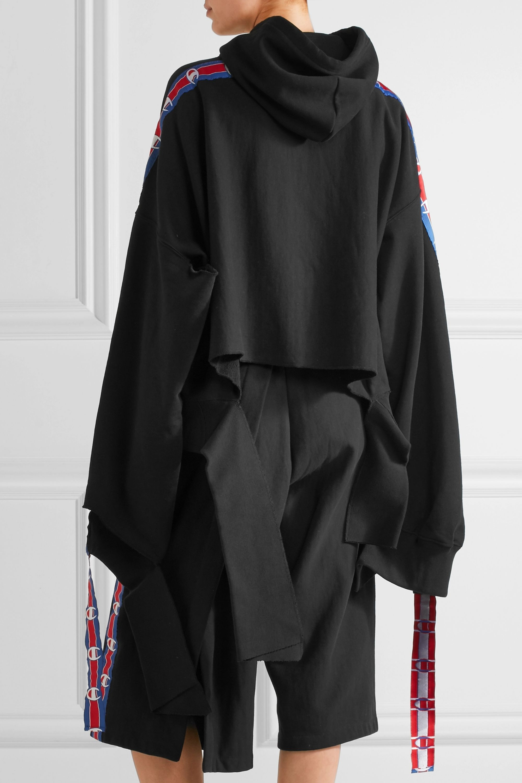 Vetements Haut à capuche en jersey de coton mélangé par Champion
