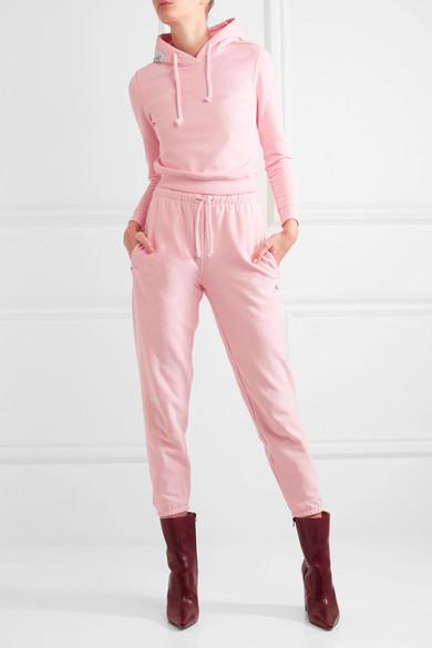 e5c23a4c2 Vetements | + Champion cotton-blend jersey track pants | NET-A ...