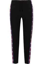 + Champion cotton-blend jersey track pants