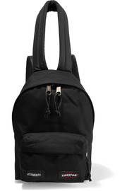 + Eastpak canvas backpack