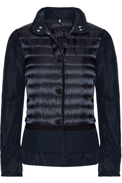 Moncler. Quilted shell down jacket